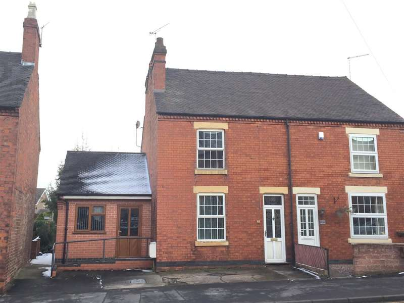 4 Bedrooms Semi Detached House for sale in Tutbury Road, Burton-On-Trent