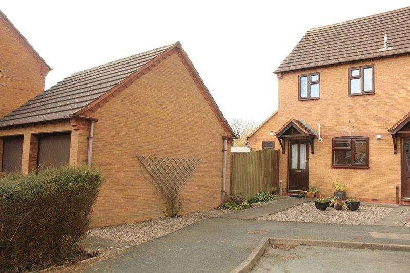 2 Bedrooms Semi Detached House for sale in Wellington Close, Sundorne, Shrewsbury, SY1 4SP