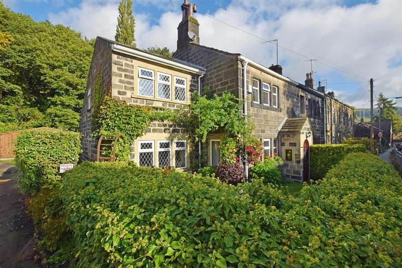 3 Bedrooms Semi Detached House for sale in Rose Cottage, Mytholmroyd, Hebden Bridge HX7