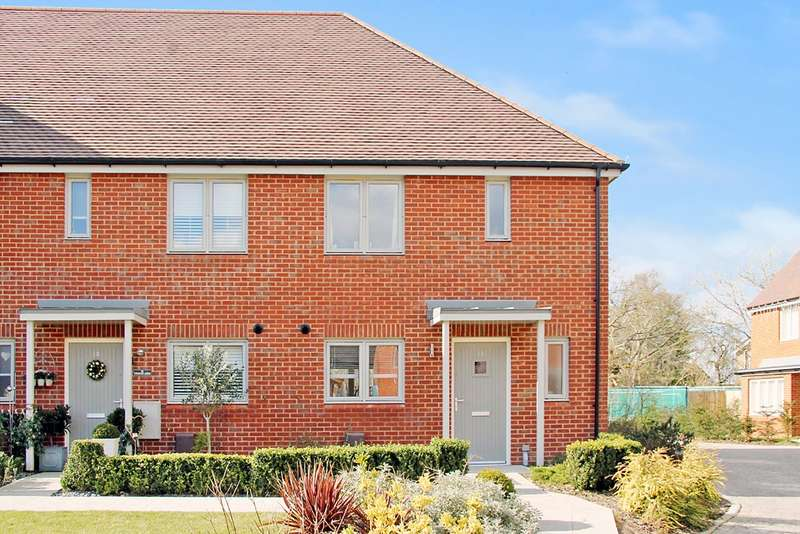 2 Bedrooms End Of Terrace House for sale in Horders Wood Gardens, Waltham Chase