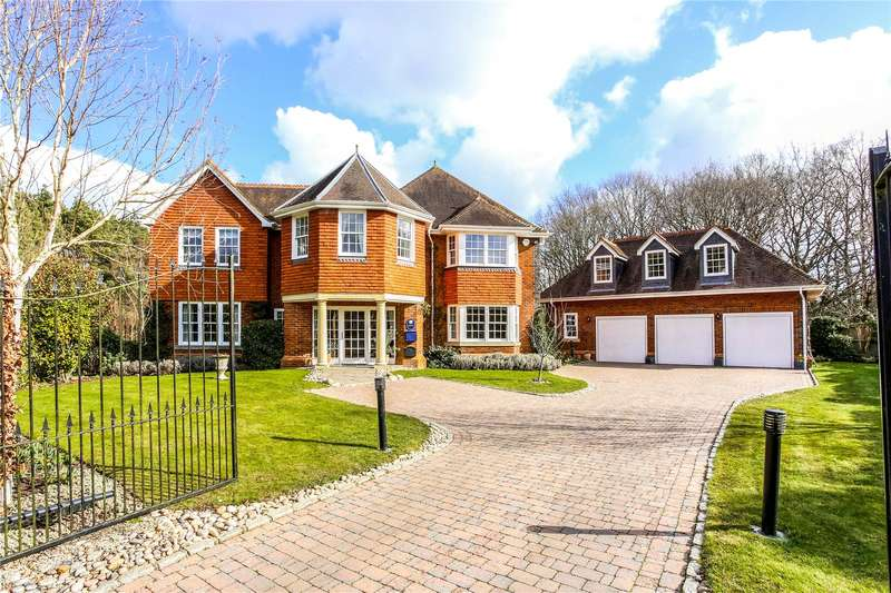 5 Bedrooms Detached House for sale in Gorse Lane, Chobham, Surrey, GU24
