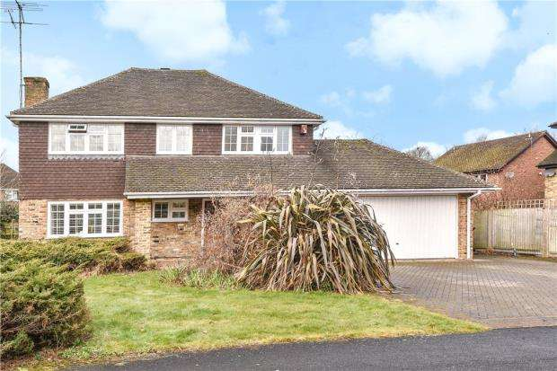 4 Bedrooms Detached House for sale in Exeter Gardens, Yateley, Hampshire