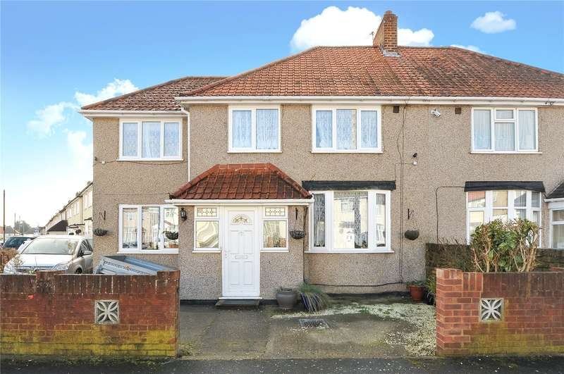 4 Bedrooms Semi Detached House for sale in Bishops Road, Hayes, Middlesex, UB3