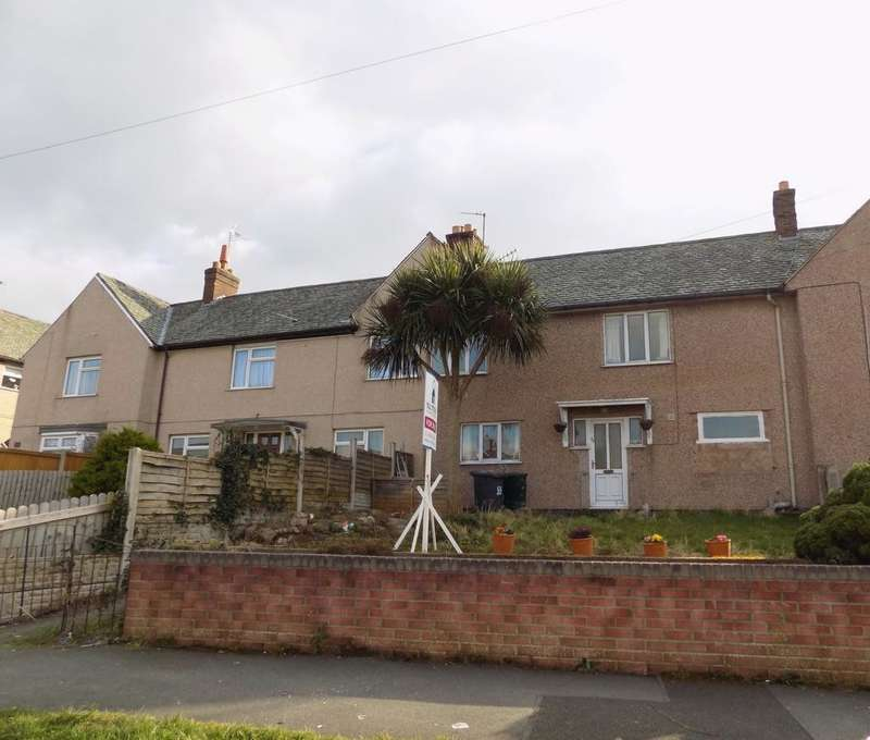 3 Bedrooms Terraced House for sale in Voryn Avenue, Old Colwyn, LL29