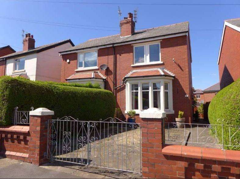 2 Bedrooms Semi Detached House for sale in Caunce Street, Blackpool, Lancashire, FY3 8HF