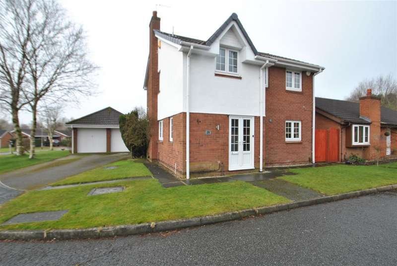 4 Bedrooms Detached House for sale in Hamsterley Close, BIRCHWOOD, Warrington, WA3