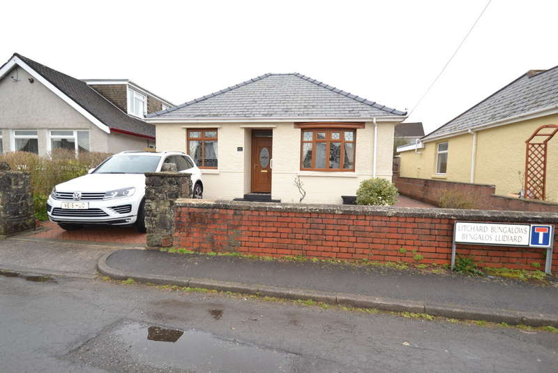 2 Bedrooms Detached Bungalow for rent in Maesgwynne Lltichard Bungalows Bridgend County Borough CF31 1PH