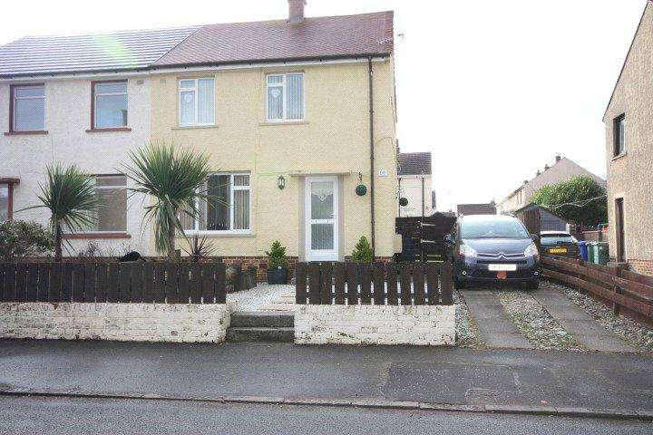 2 Bedrooms Semi Detached House for sale in 90 James Campbell Road, Ayr, South Ayrshire, KA8