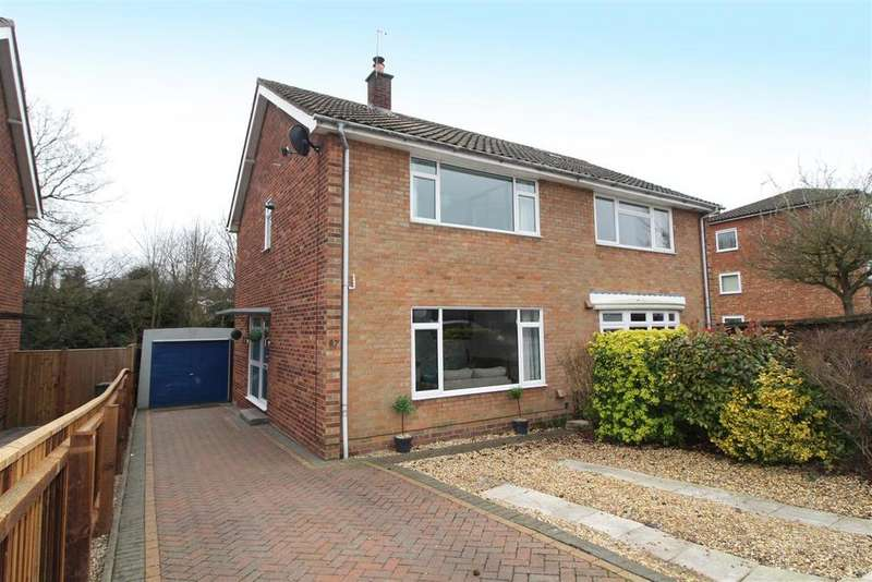 3 Bedrooms Semi Detached House for sale in Winthrop Road, Bury St. Edmunds