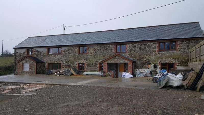 4 Bedrooms Barn Conversion Character Property for rent in Harracott, Barnstaple, EX31 3JT