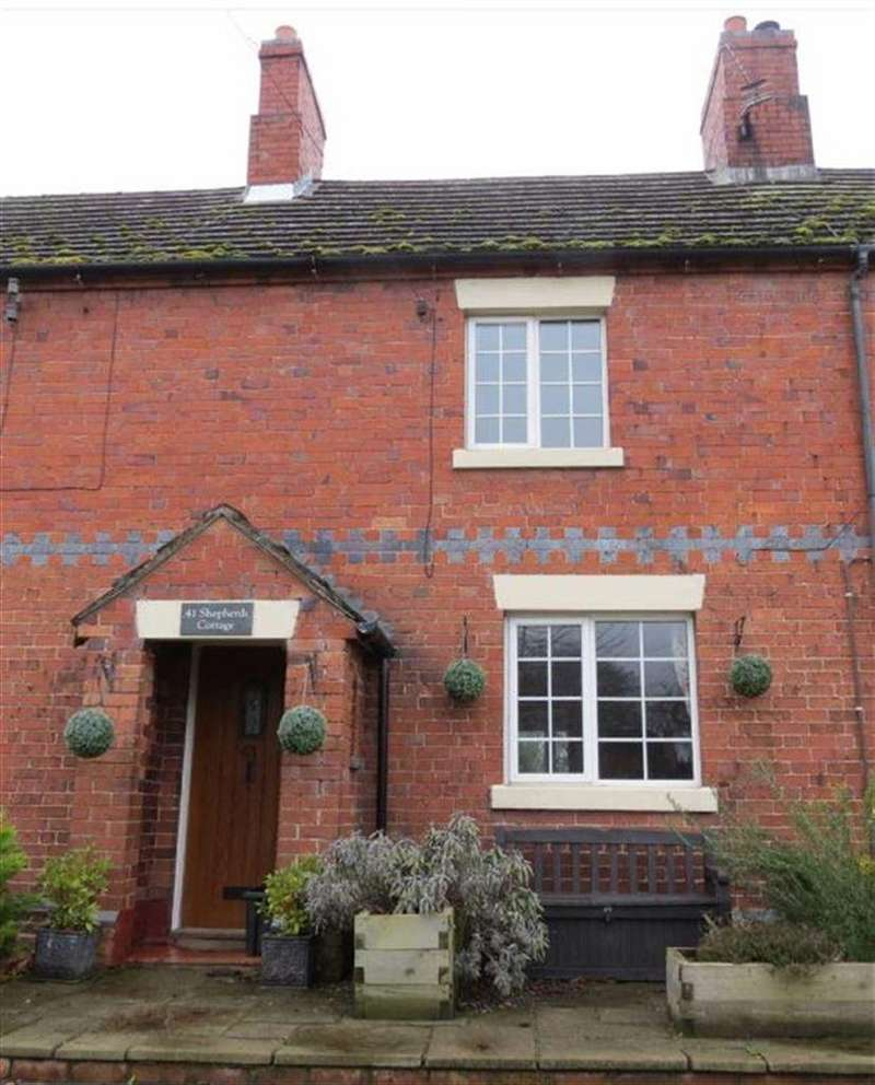 3 Bedrooms Terraced House for sale in Prescott Road, Baschurch, Shrewsbury, Shropshire