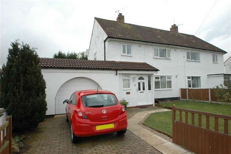 3 Bedrooms Semi Detached House for sale in Wemyss Road, Blacon, Chester