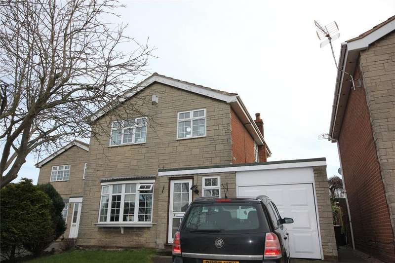 3 Bedrooms Detached House for sale in Kingsthorpe Close, Forest Town, Nottinghamshire, NG19