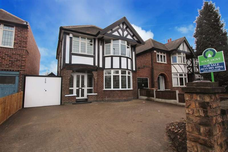 3 Bedrooms Detached House for sale in Wollaton Road, Wollaton, Nottingham, NG8