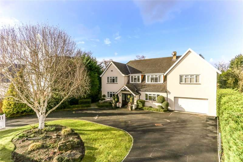 5 Bedrooms Detached House for sale in Cleves Wood, Weybridge, Surrey, KT13