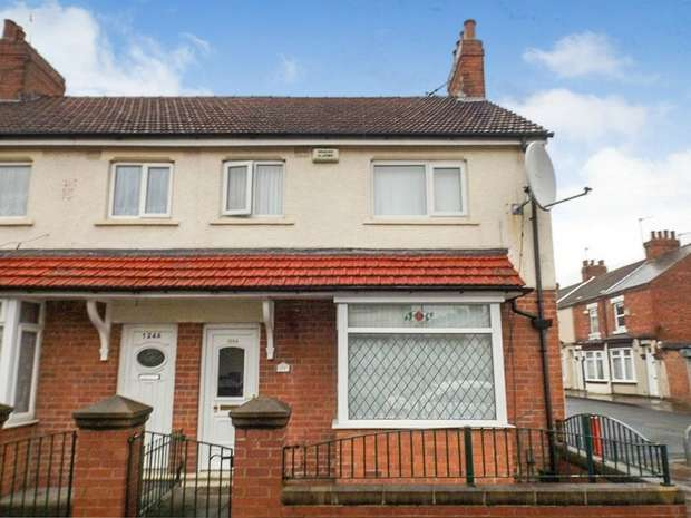 2 Bedrooms End Of Terrace House for sale in Crescent Road, Middlesbrough, North Yorkshire
