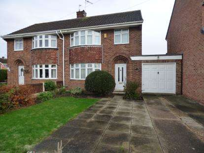 3 Bedrooms Semi Detached House for sale in Lodge Road, Long Eaton, Nottingham
