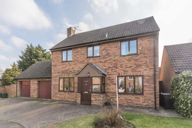 4 Bedrooms Detached House for sale in Manning Close, Bloxham