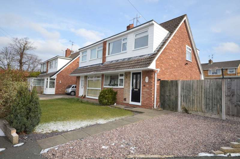 3 Bedrooms Semi Detached House for sale in Somerville Close, Bromborough
