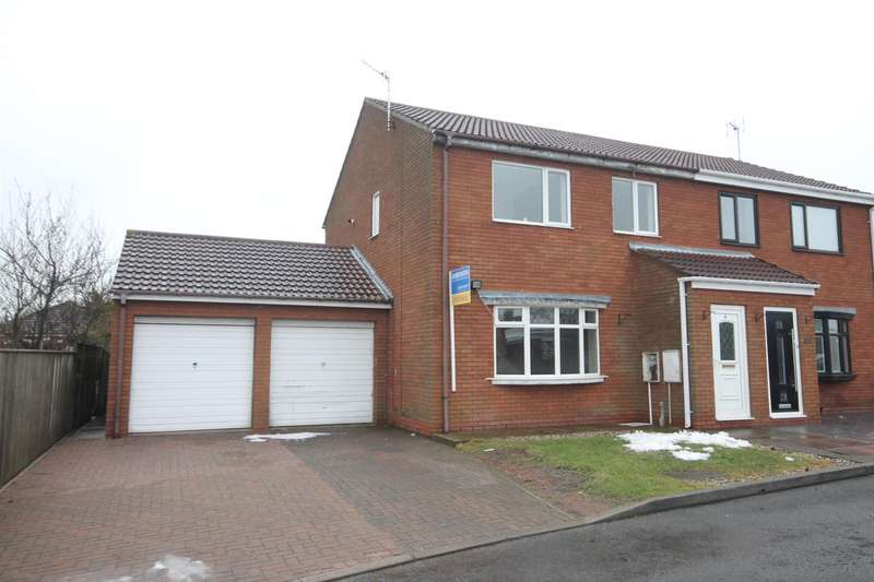 3 Bedrooms Semi Detached House for sale in Brinsley Court, Coundon, Bishop Auckland