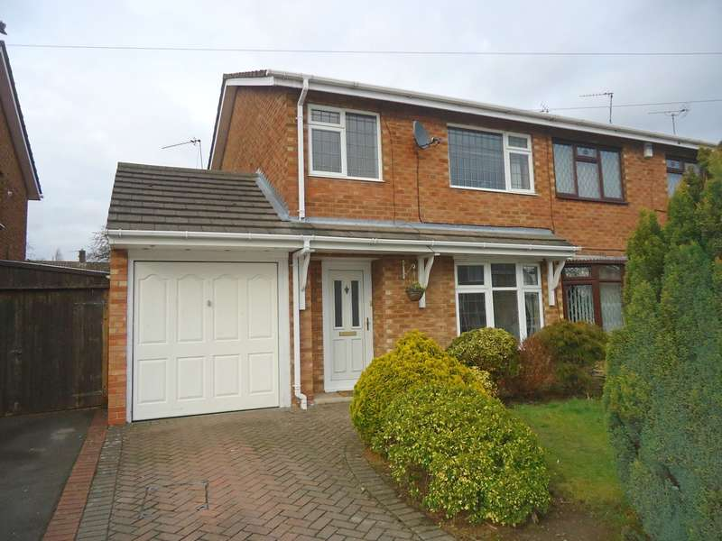 3 Bedrooms Semi Detached House for sale in Woburn Drive, Stockingford, Nuneaton, CV10