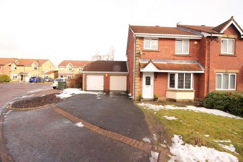 3 Bedrooms House for sale in Ashley Close, Killingworth, Newcastle Upon Tyne