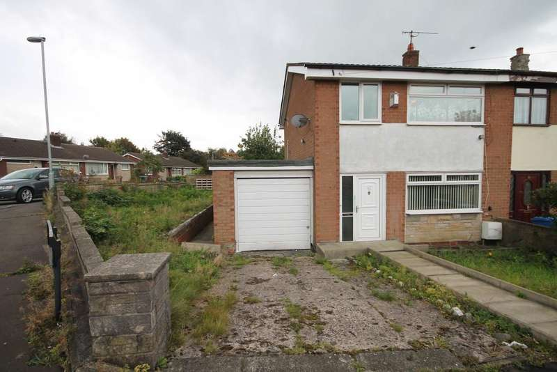 3 Bedrooms Semi Detached House for sale in Marigold Street, Rochdale