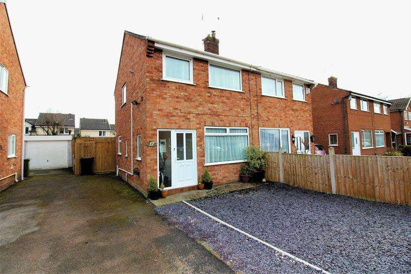 2 Bedrooms Semi Detached House for sale in Finchett Drive, Chester