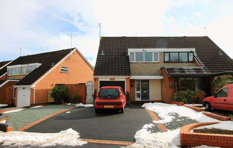3 Bedrooms House for sale in Princess Crescent, Halesowen, B63 3QE