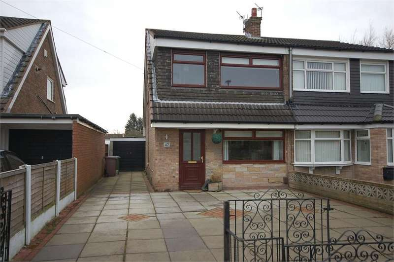 3 Bedrooms Semi Detached House for sale in Sycamore Avenue, Haydock, St Helens, Merseyside