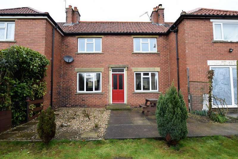 3 Bedrooms Terraced House for rent in East Terrace, Wombleton , YO62 7RT
