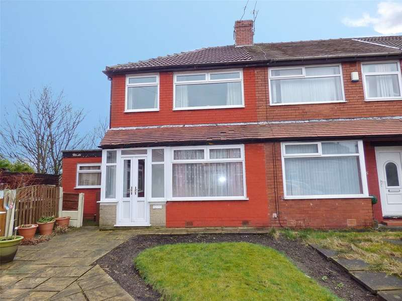 2 Bedrooms End Of Terrace House for sale in Eastfield Avenue, Alkrington, Middleton, Manchester, M24
