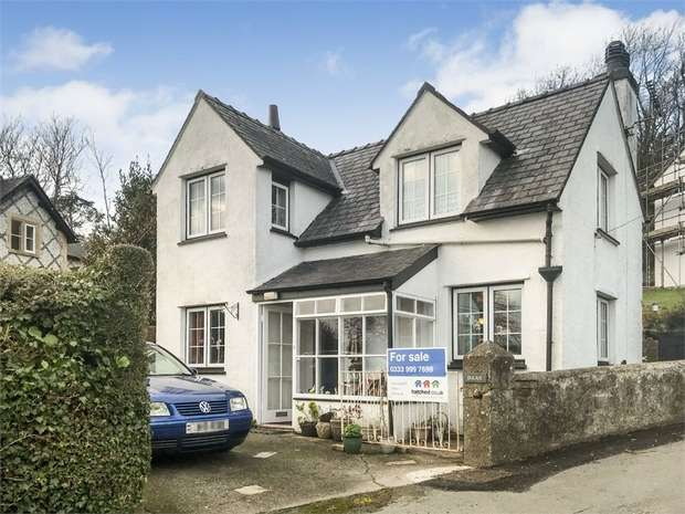 3 Bedrooms Detached House for sale in Lon Ednyfed, Criccieth, Gwynedd
