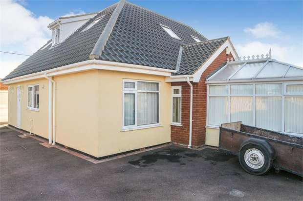 4 Bedrooms Detached Bungalow for sale in Beach Close, Scratby, Great Yarmouth, Norfolk
