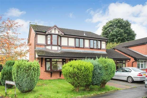 4 Bedrooms Detached House for sale in Riverside Road, Radcliffe, Manchester, Lancashire