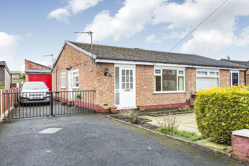 2 Bedrooms Semi Detached Bungalow for sale in Alpine Avenue, Lostock Hall, Preston, PR5