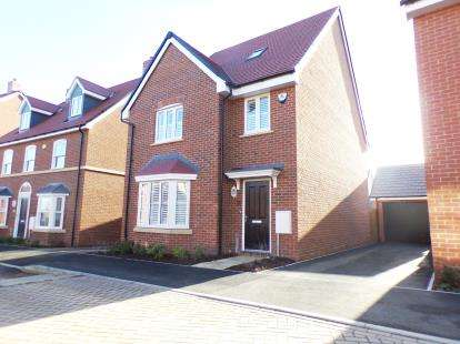 4 Bedrooms Detached House for sale in Curacao Crescent, Newton Leys, Bletchley, Milton Keynes
