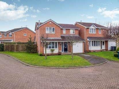4 Bedrooms Detached House for sale in Studland Way, West Bridgford, Nottingham, Nottinghamshire