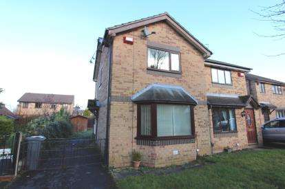 2 Bedrooms Semi Detached House for sale in Goldcrest Close, Sharston, Manchester, Greater Manchester