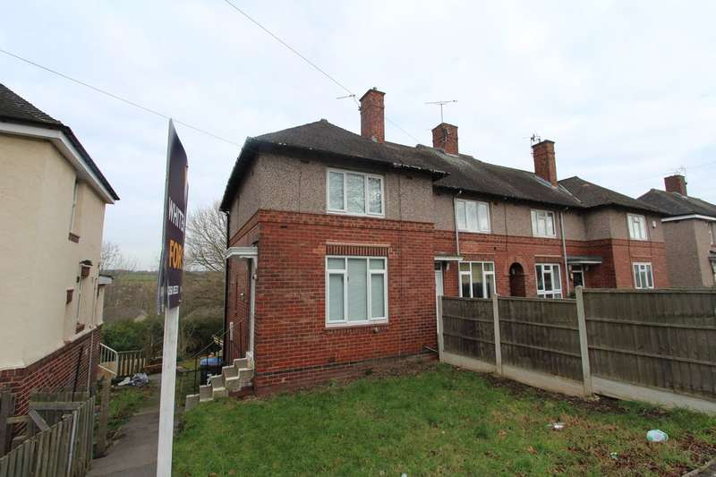 2 Bedrooms End Of Terrace House for sale in Papermill Road, Shirecliffe