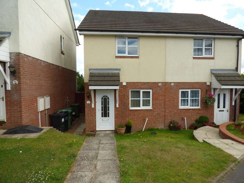2 Bedrooms Semi Detached House for sale in Calvados Park, Kingsteignton