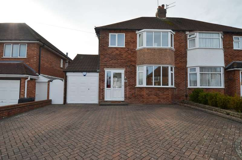 3 Bedrooms Semi Detached House for sale in Simon Road, Hollywood, Birmingham, B47