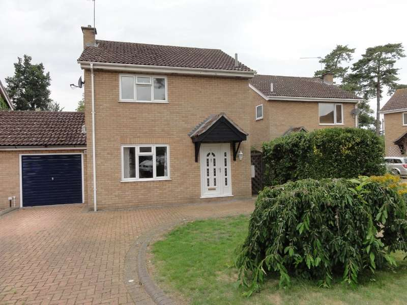 3 Bedrooms Property for rent in Blackbird Close, Thurston IP31