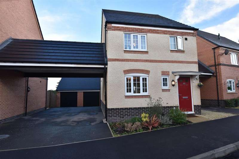 3 Bedrooms Property for sale in Pritchard Drive, Kegworth, Derby