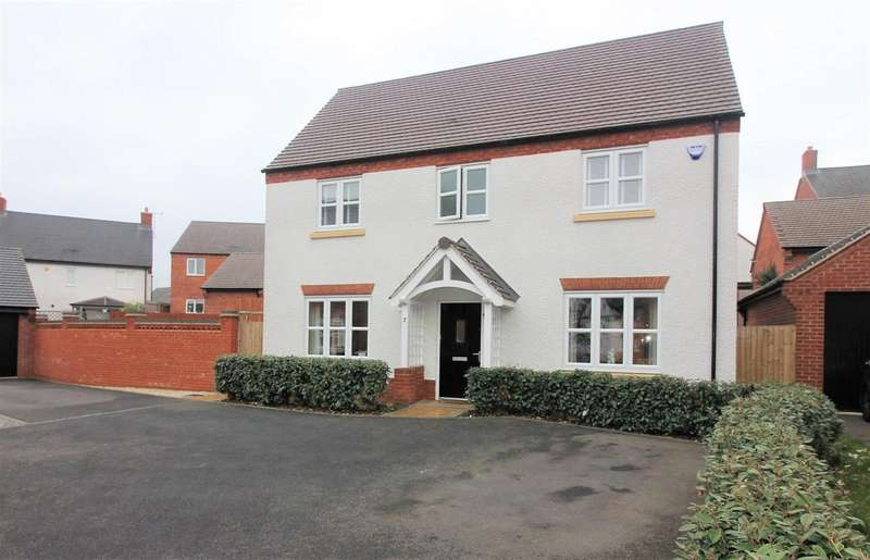4 Bedrooms Property for sale in Piper Avenue, Castle Donington, DE74 2UE