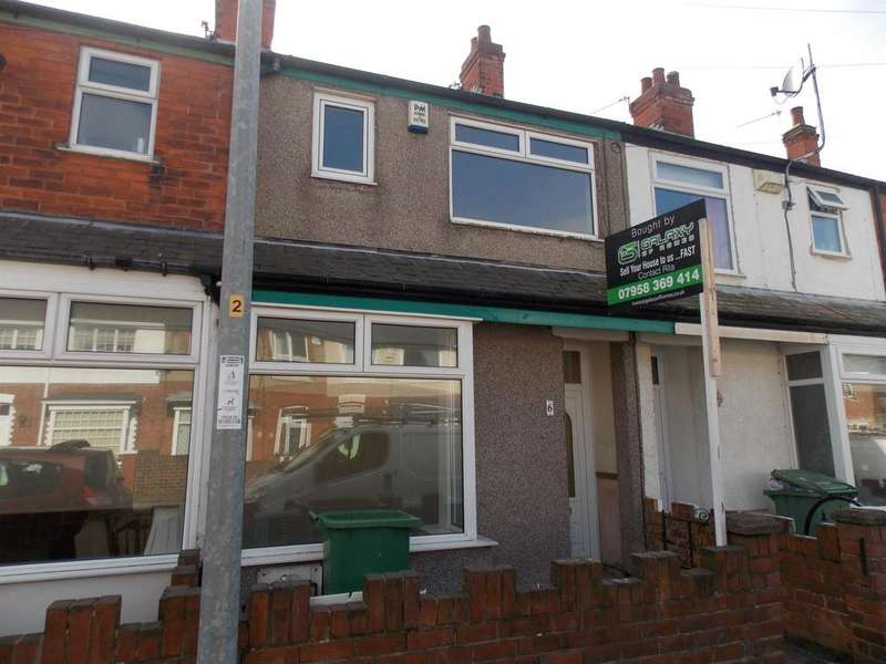 3 Bedrooms Terraced House for rent in Newby Road, Grimsby, DN31 2EQ