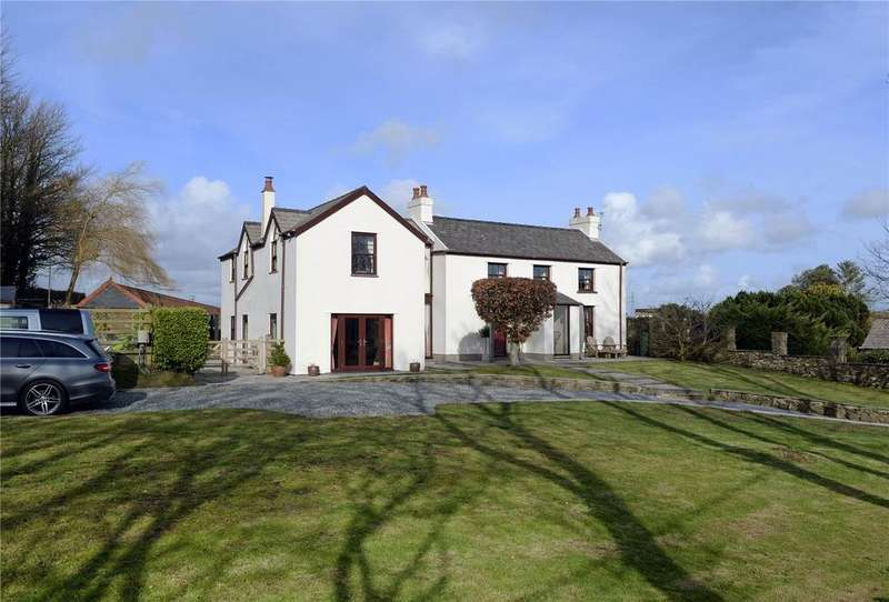 4 Bedrooms Detached House for sale in Leonardston Cottage, Leonardston Road, Llanstadwell, Milford Haven