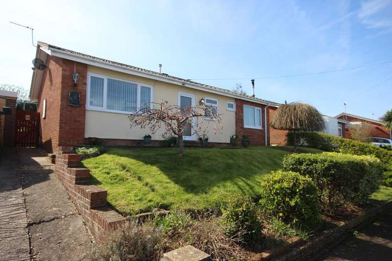3 Bedrooms Detached Bungalow for sale in Copse Close, Watchet