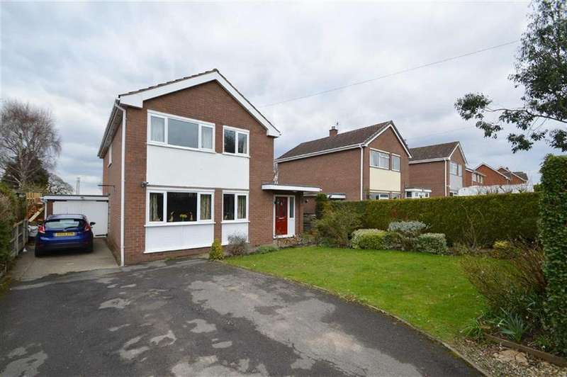 4 Bedrooms Detached House for sale in Gorse Lane, Bayston Hill, Shrewsbury