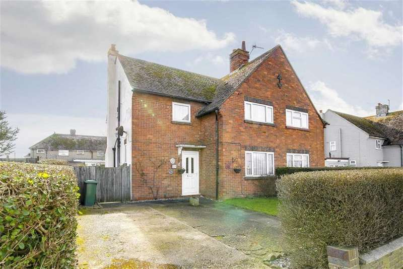 3 Bedrooms Semi Detached House for sale in Arundel Road, Peacehaven
